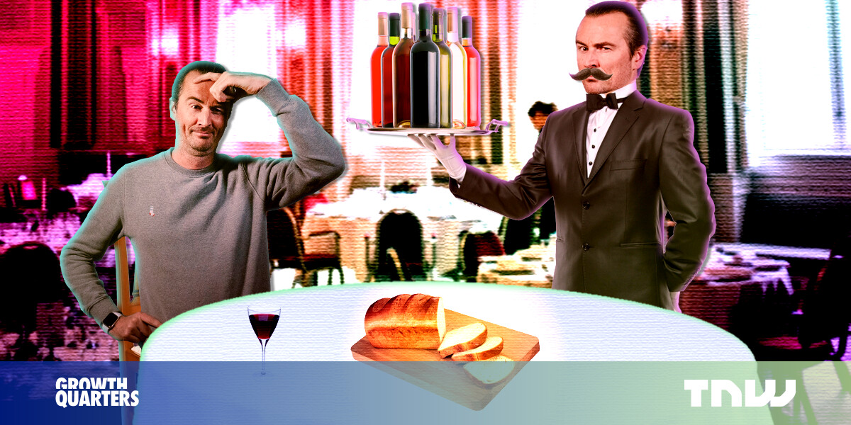 Waiters and employees are in charge — you're just paying them