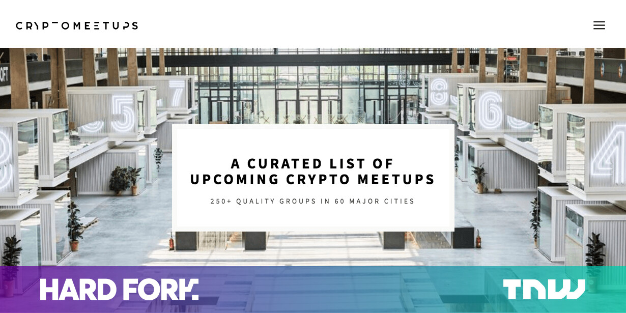 This Nifty Site Lists all Hot Cryptocurrency Meetups in You Area