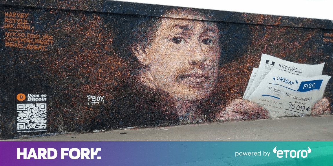 Meet the street artist who made $1,000 by adding a Bitcoin QR code to his murals