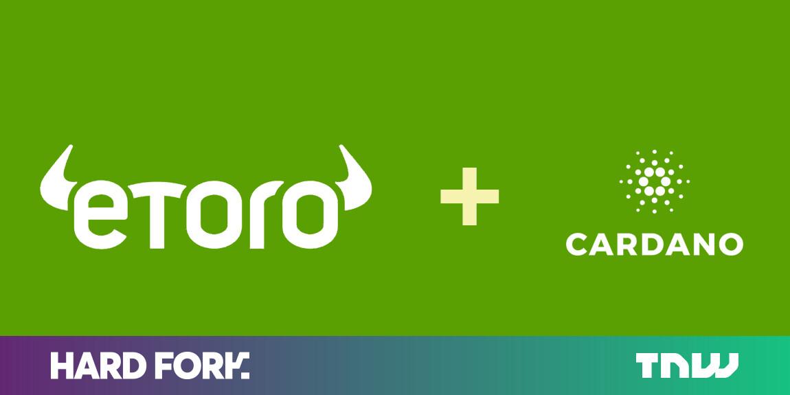 Cardano (ADA) is the latest cryptocurrency to arrive on eToro