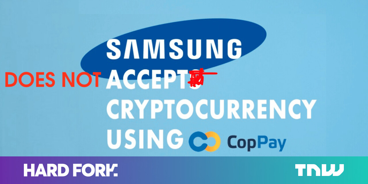 No, Samsung will not Be Accepting Cryptocurrency Payments in the Baltics