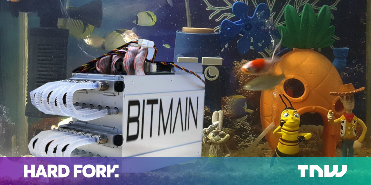 Bitmain's New Water-cooled Cryptocurrecy Miner is Obvs 'inspired' by YouTube