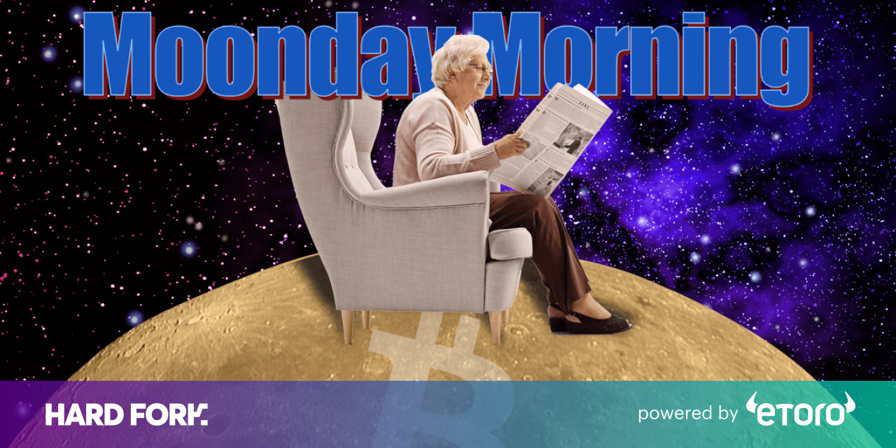 Moonday Morning: Cryptocurrency market is as mature as 'dollar and oil'