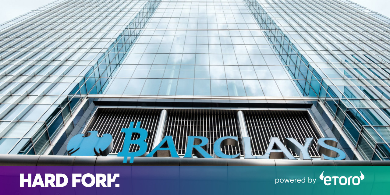 Barclays reportedly shelves plans to trade cryptocurrencies for its clients
