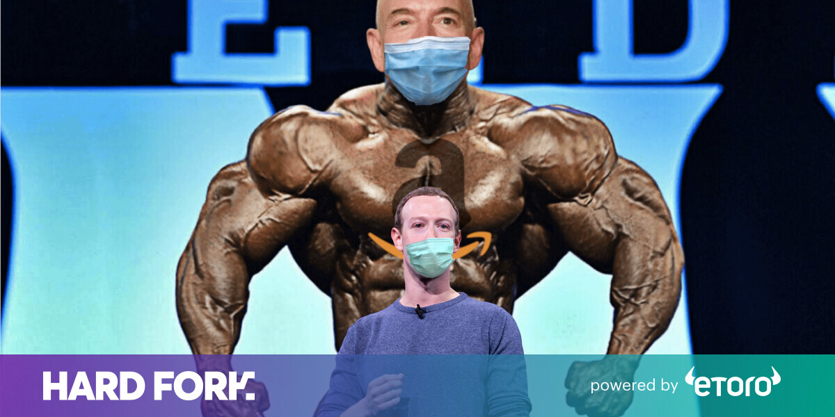Bezos and Zuckerberg worth $60B more in two months, thanks to COVID-19