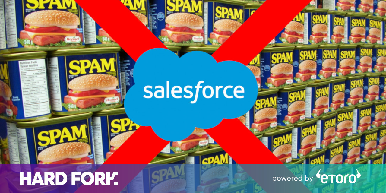 Salesforce thinks it can fight spam with blockchain