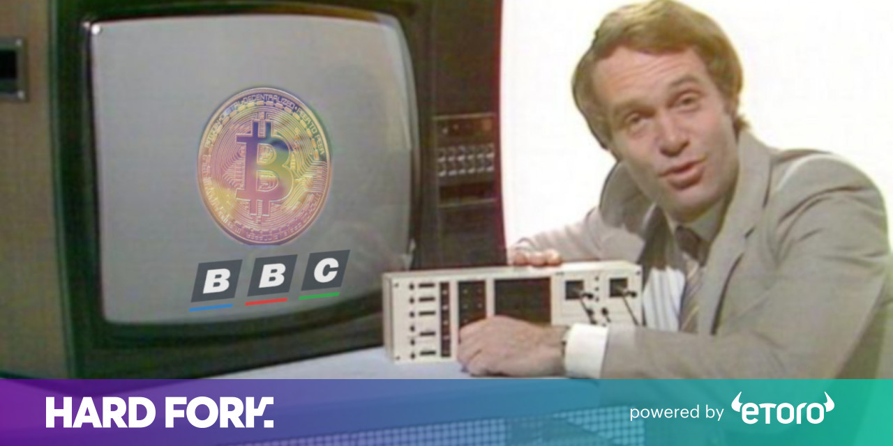 Cryptocurrency on the bbc news