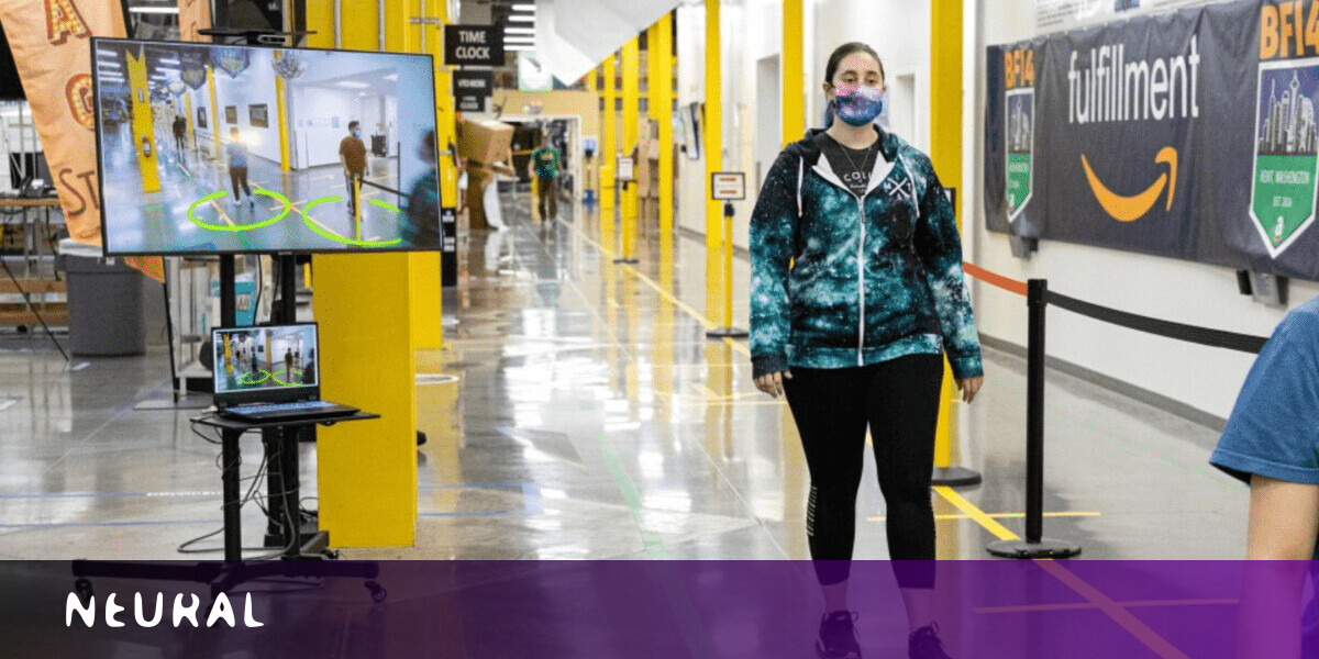 Amazon is using an AI camera system to monitor social distancing in its warehouses 1