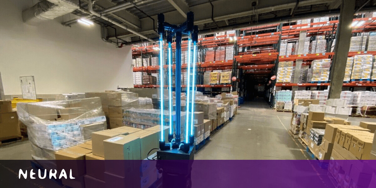 MIT's coronavirus-killer robot uses UV-C light to disinfect warehouses