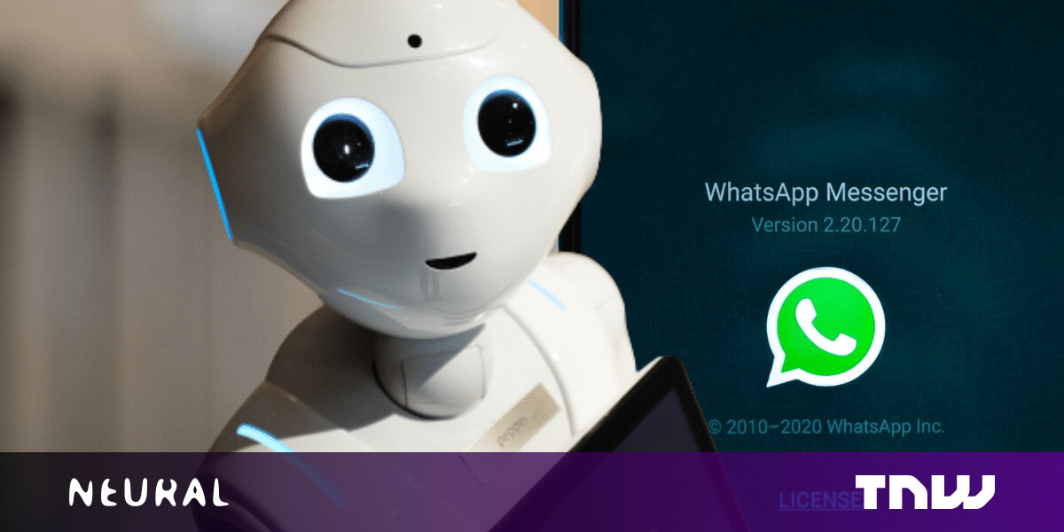 How to create an AI that chats like you on WhatsApp