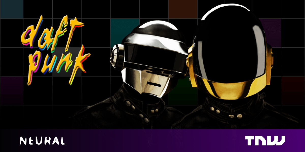 This AI-generated Daft Punk video is the perfect tribute to the electro pioneers