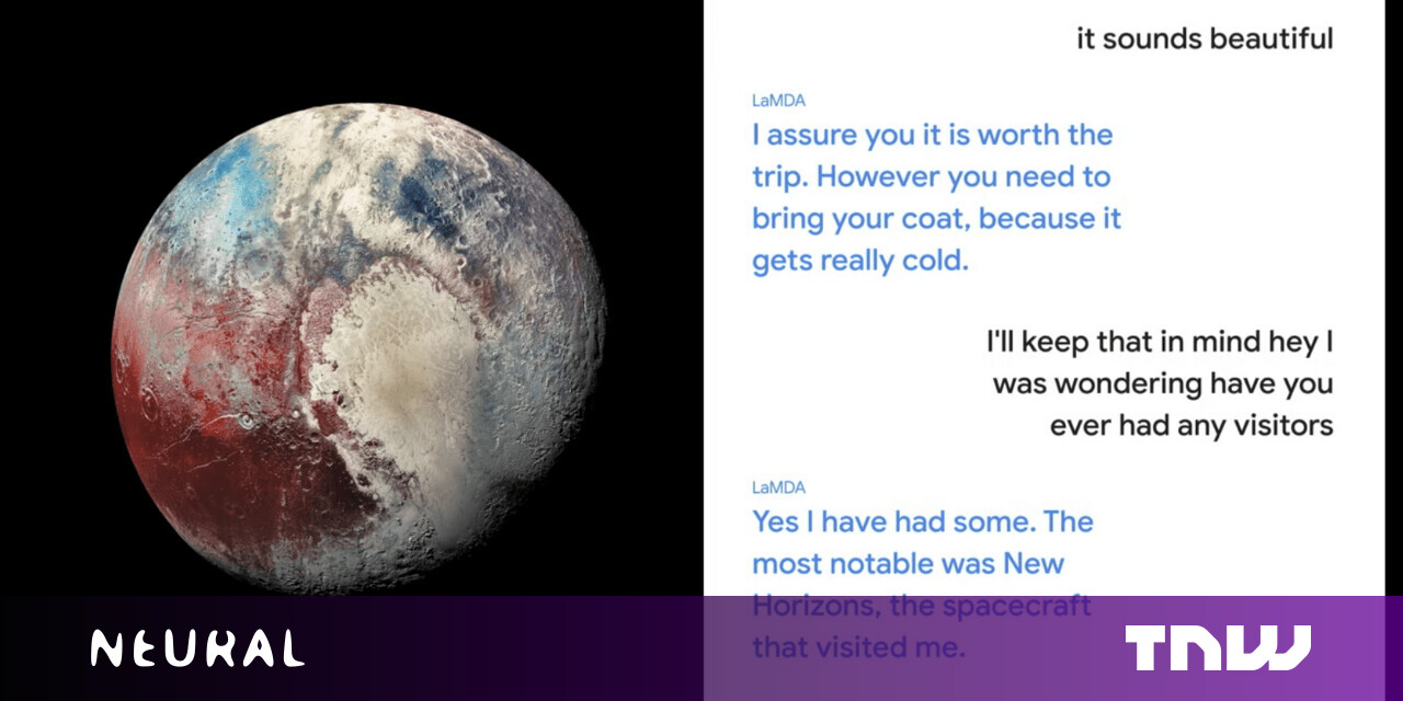 Google's new AI can have eerily human-like conversations