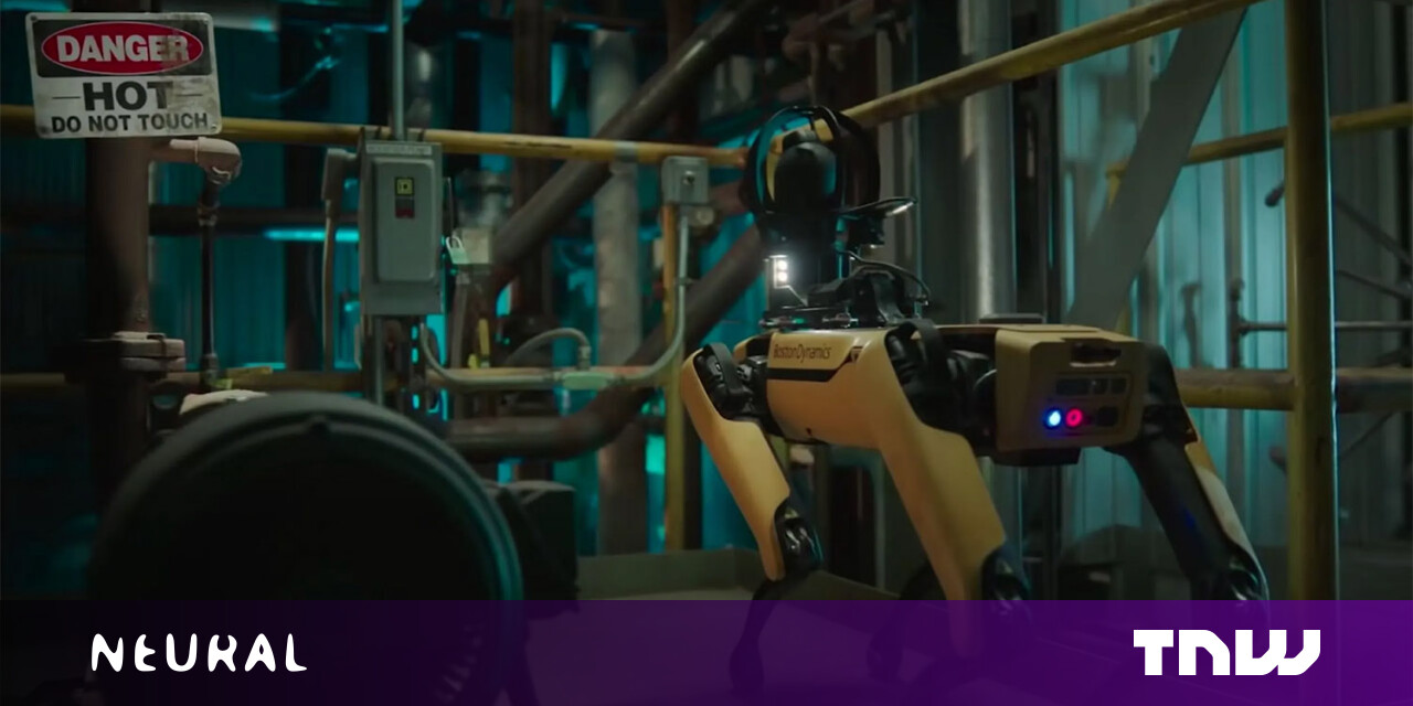 Boston Dynamics' Spot will boldly work in unsafe environments