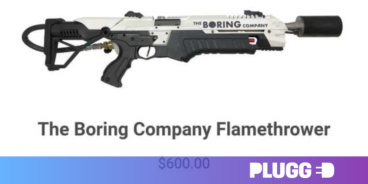 You can preorder Elon Musk's new flamethrower – if you guess the password