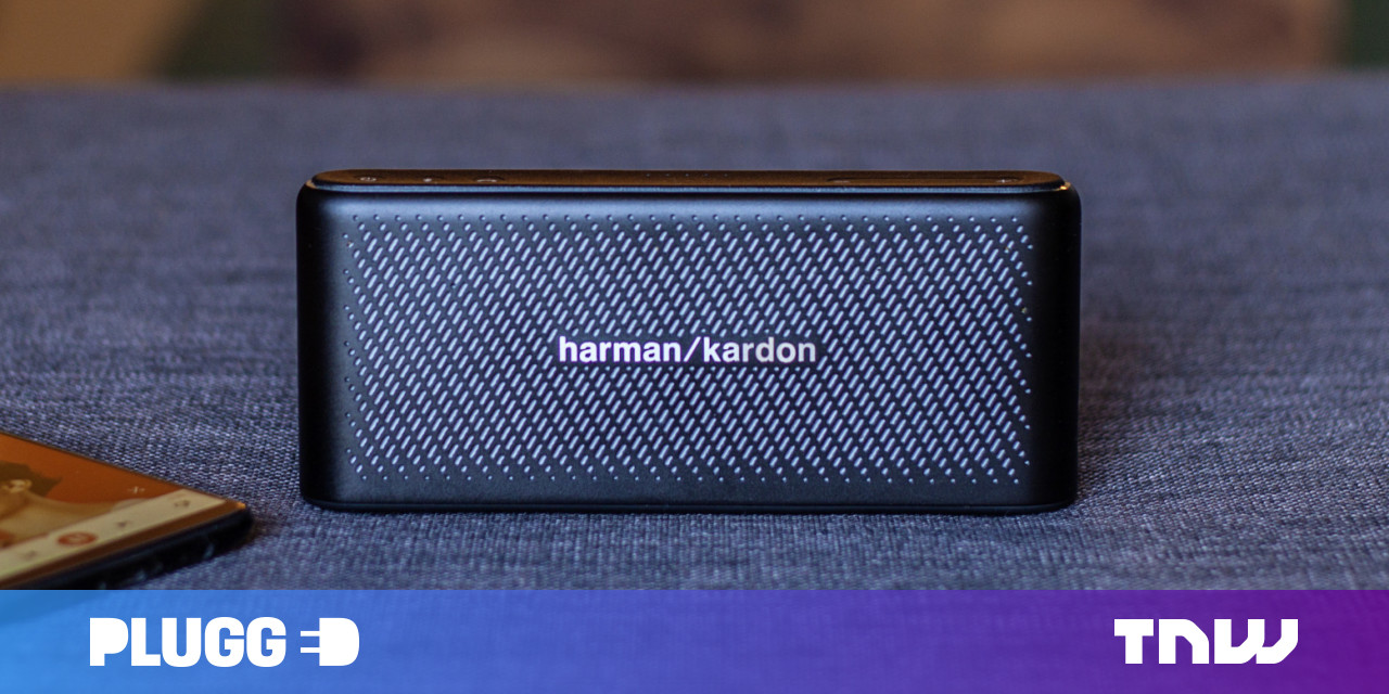 Harman Kardon's $150 Traveler speaker puts detailed sound – and a spare battery – in your pocket