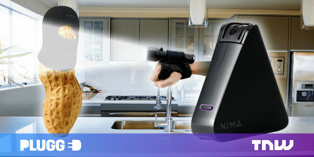 The portable Nima Peanut Sensor stops nuts getting in your mouth