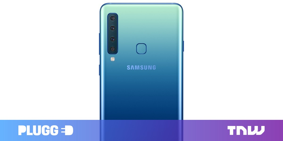 photo image Samsung slaps four rear cameras on a phone, because why the hell not?
