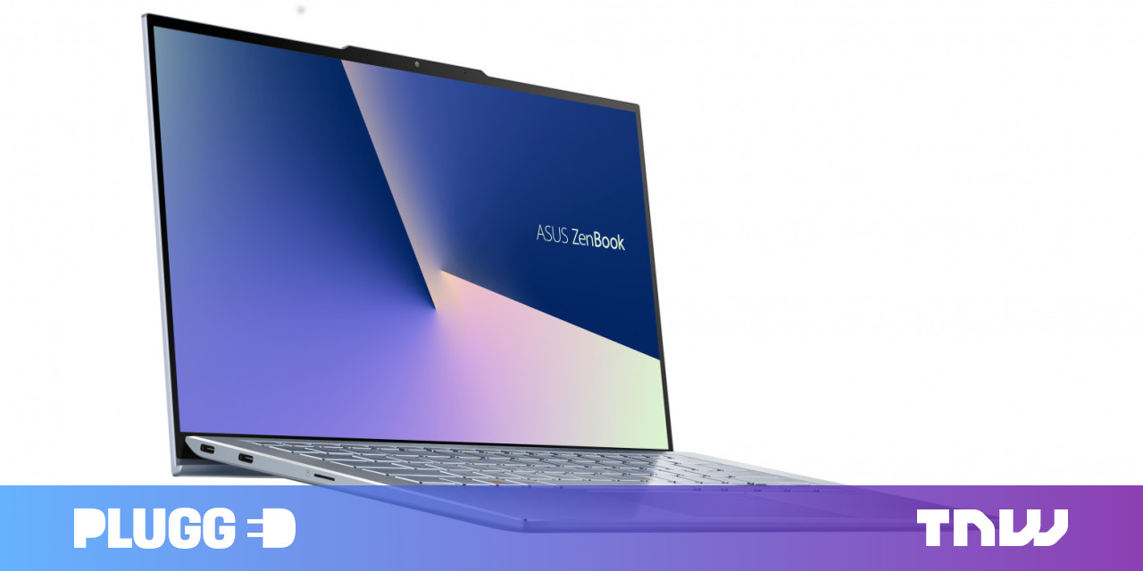 ASUS cleverly adds a notch to its latest laptop for the thinnest bezels ever