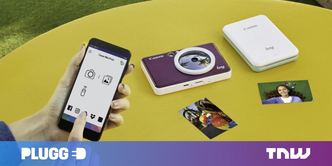 Canon's new Ivy Cliq cameras join the modern Polaroid fad