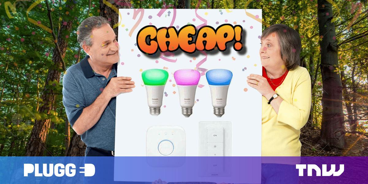 QnA VBage CHEAP: A Philips Hue starter kit (with white & color bulbs) for $110? SÍ, DA, JA, YES!