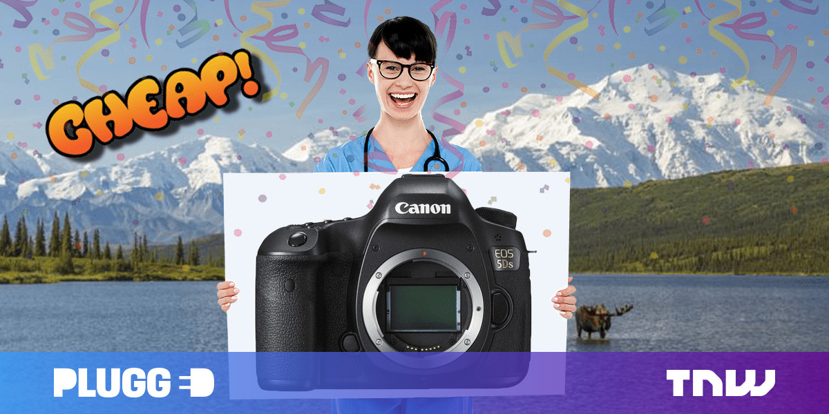 CHEAP: Shield thy eyes! Canon's EOS 5DS DSLR Camera has 64% off