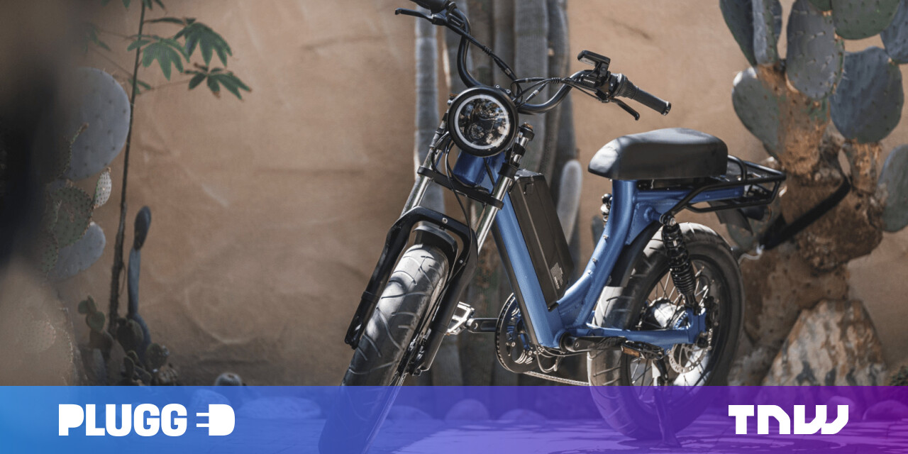 The Juiced Scorpion is a moped-like e-bike with buttery-smooth suspension