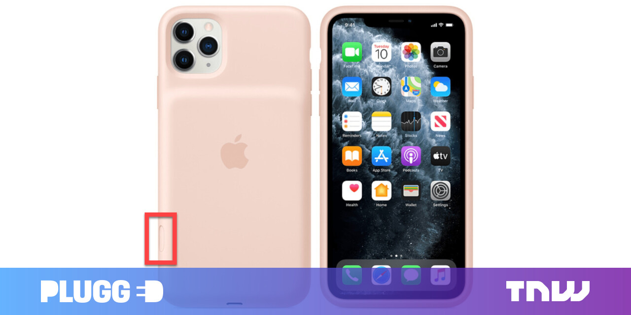 Apple's new iPhone 11 battery case includes a dedicated camera button