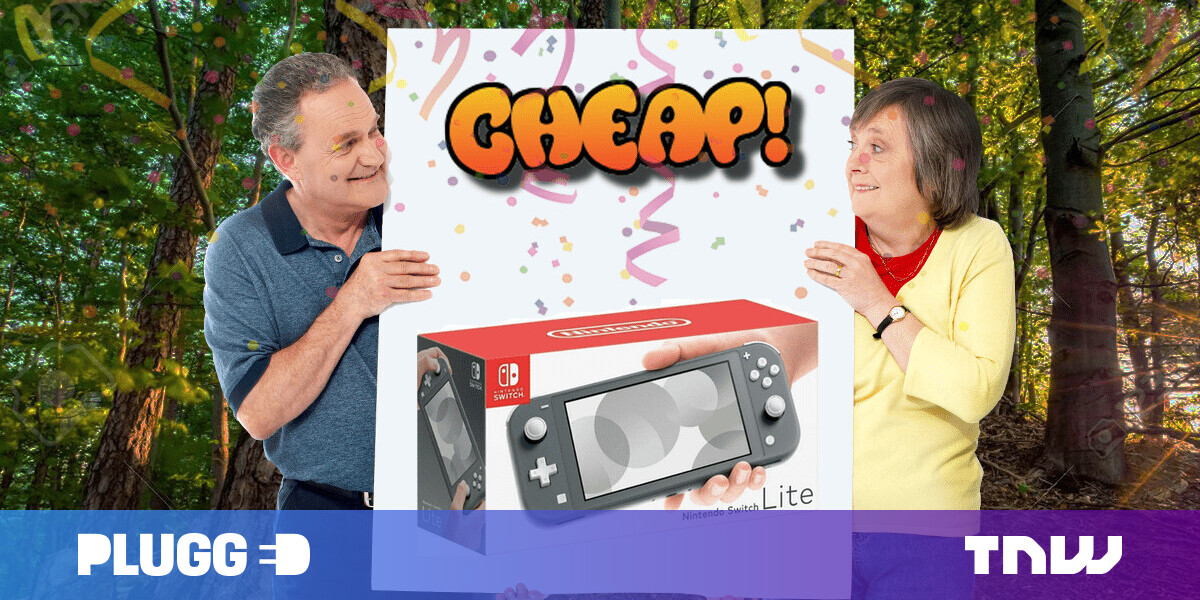 CHEAP: Lighten the mood with $20 off the Nintendo Switch Lite