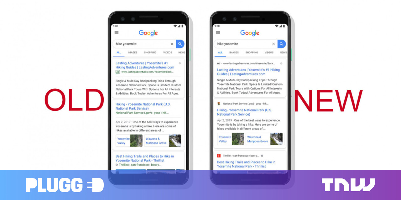 Google is testing how to make ads sneakier in search results
