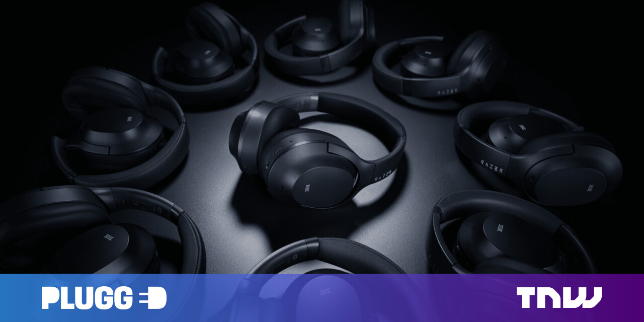 Razer made a surprisingly classy pair of $200 noise-cancelling headphones