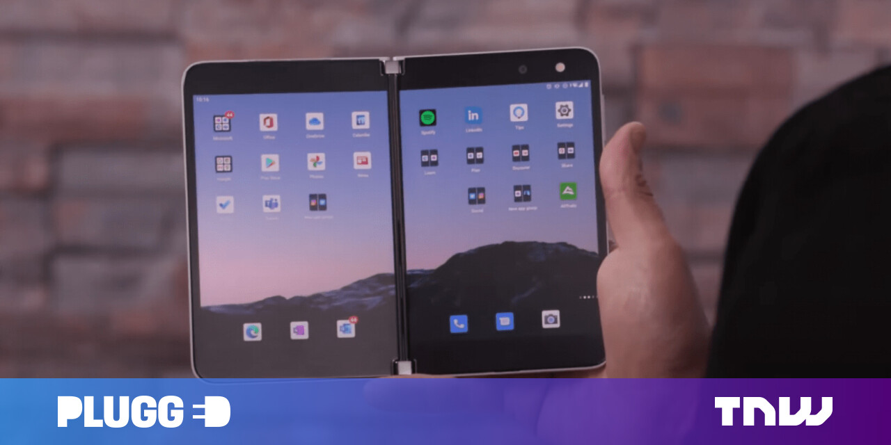 Microsoft shows off the Surface Duo in a 35-minute press video, now public