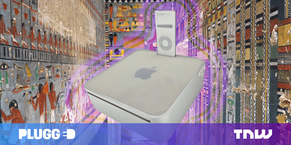 Apple, I curse thee for ditching your mad Mac Mini with an iPod dock