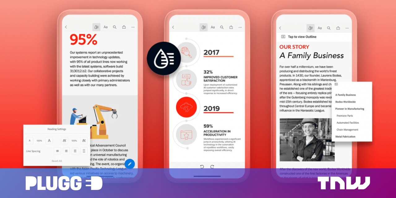Adobe is making it less of a nightmare to read PDFs on your phone