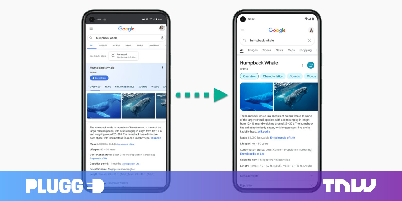 photo of Google Search has a new mobile design — come spot the differences image
