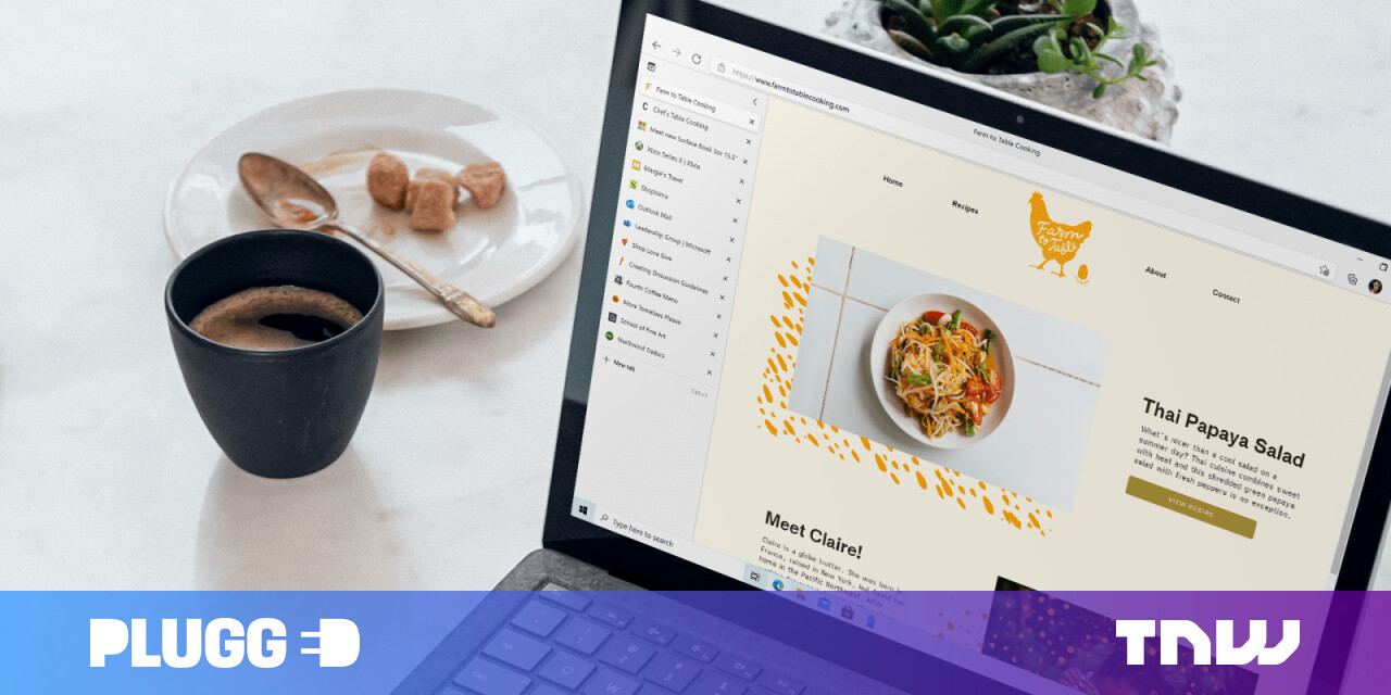 Microsoft brings vertical tabs to Edge and Bing gets better at visual search