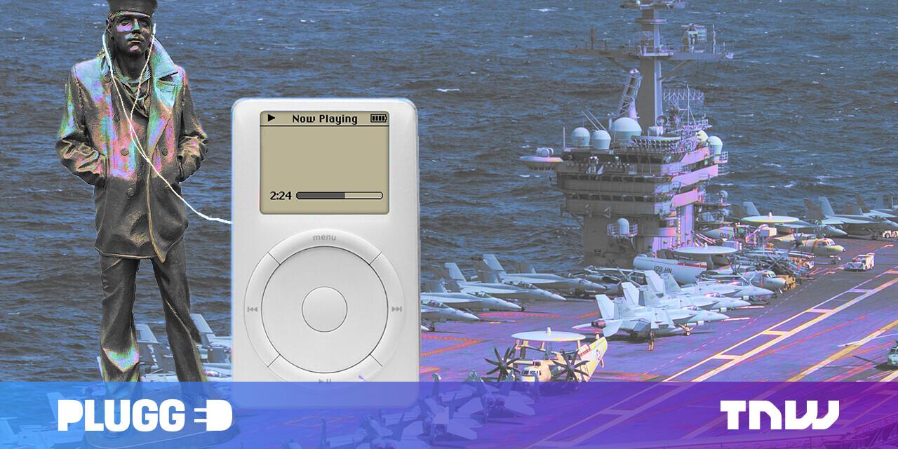 How the original iPod got me through the war
