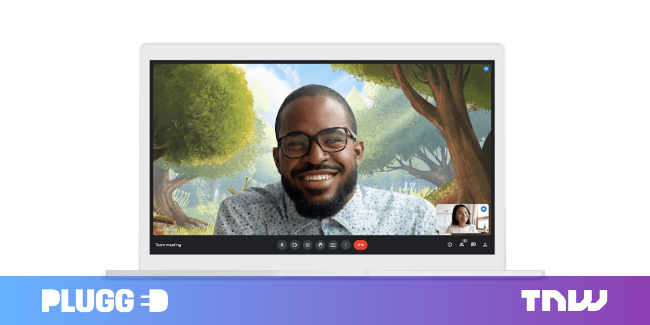 Google Meet gets a new interface and backgrounds for videos