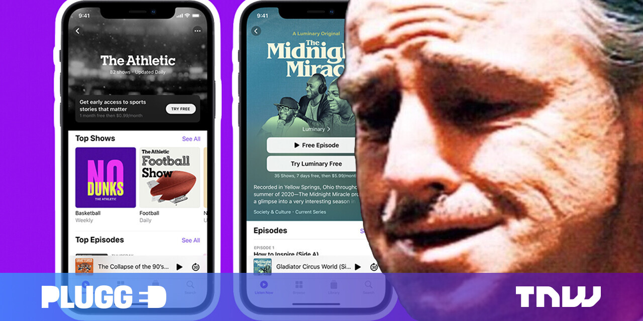 The Apple Podcasts app redesign is a crime against humanity