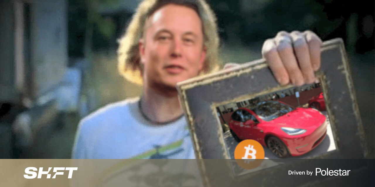 Elon Musk says Tesla is pausing Bitcoin payments for its cars now