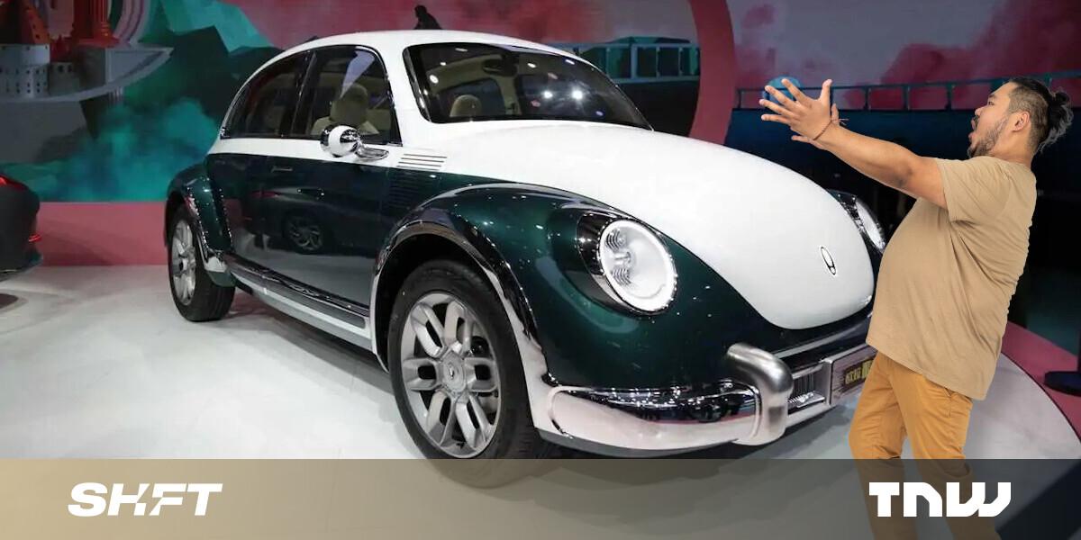 Ora's copycat electric Beetle has a truly wild interior