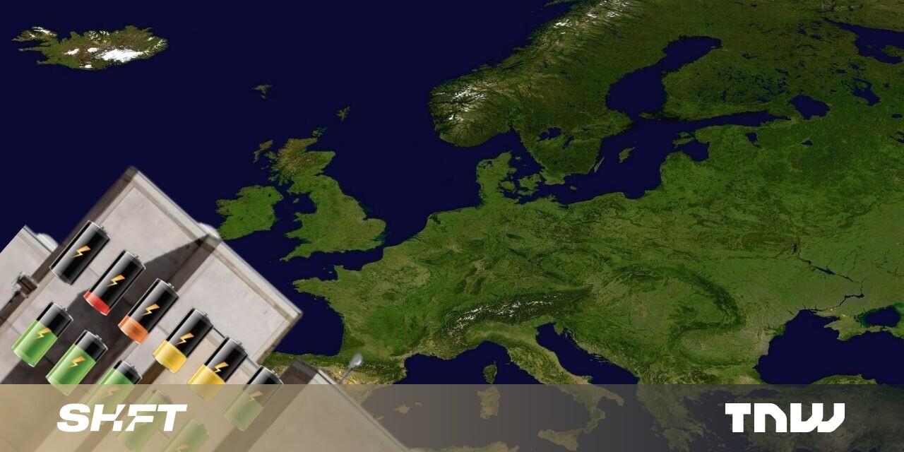 Europe invests $47B in 38 EV battery gigafactories