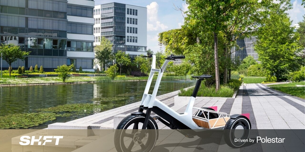 Goddamn, I wish BMW's cargo ebike concept actually existed
