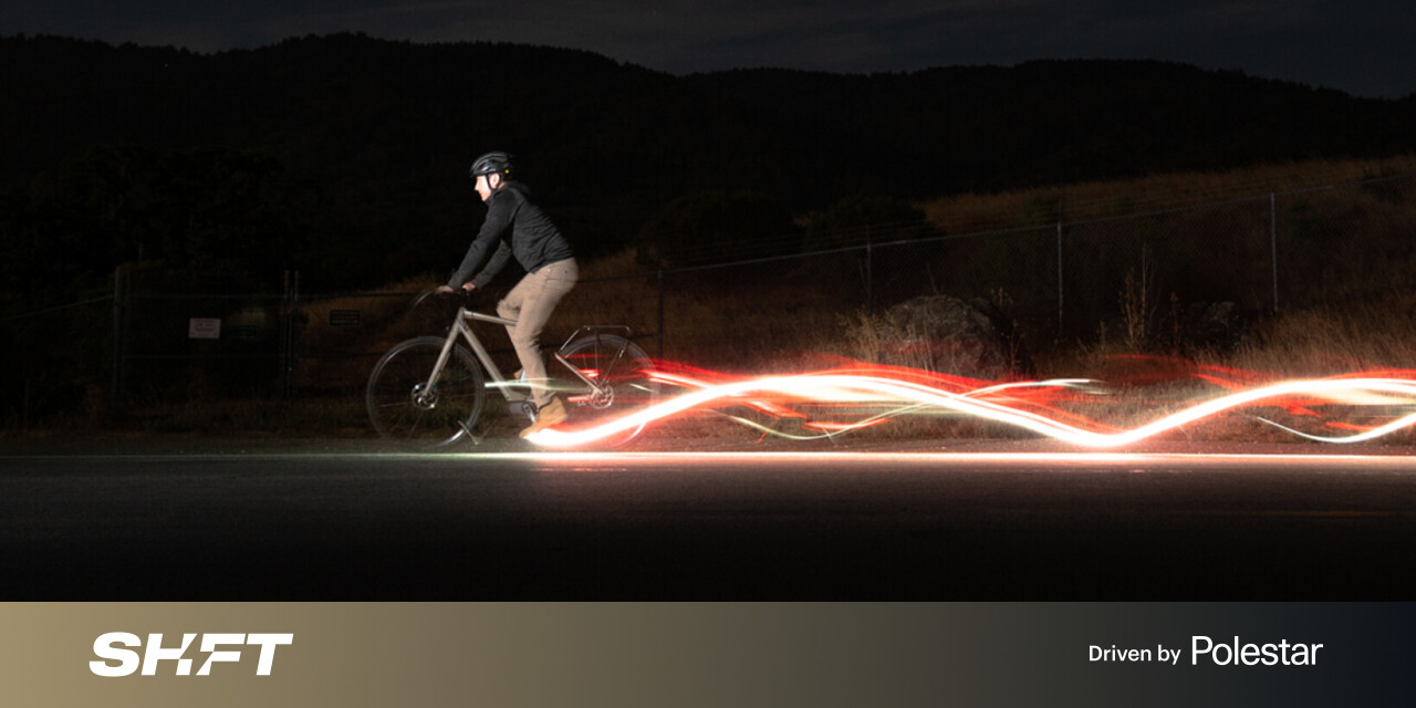 Redshift's LED bike pedals may keep you safer than normal lights
