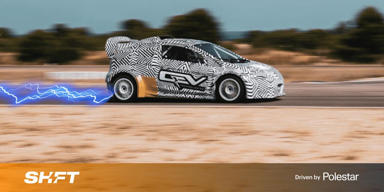 Rallycross sẽ chạy điện vào năm 2021 với một loạt cuộc đua mới hỗn loạn trên khắp châu Âu
