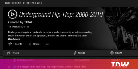 TIDAL Is a New Hi-Fi Music Streaming Service in the US, UK