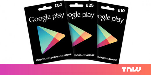 google play gift cards launch in the uk at tesco and morrisons. Black Bedroom Furniture Sets. Home Design Ideas