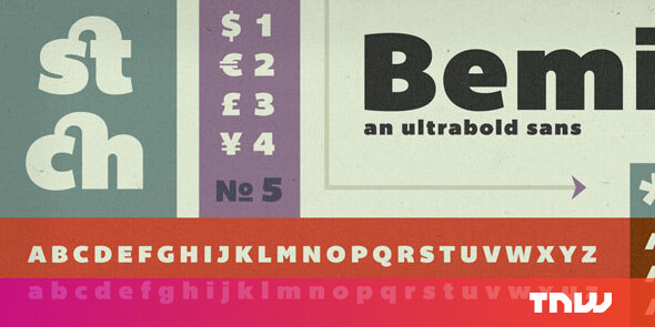 "Check Out The Latest ""Pay What You Wish"" Typefaces From"