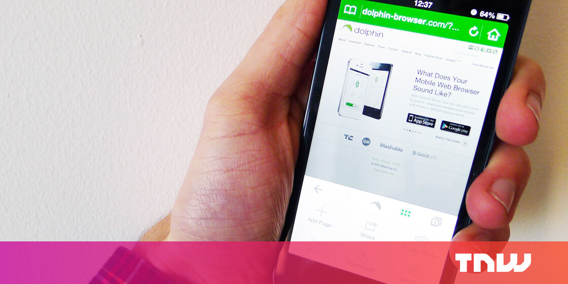 Dolphin Browser Adds One-Tap Sharing, Evernote Clipping and More