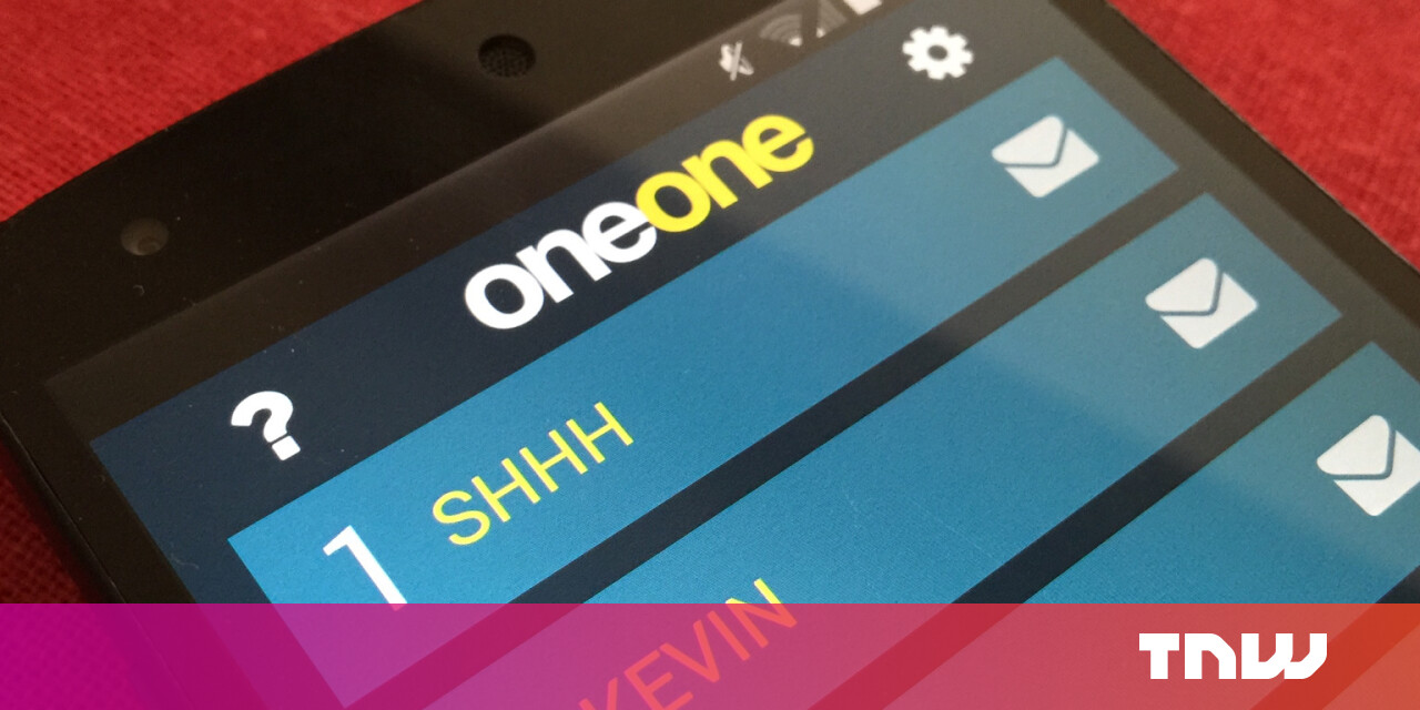 Oneone Secure Messaging Designed To Be Untraceable