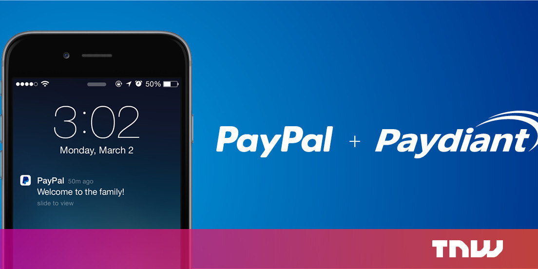 PayPal Acquires Paydiant , Adds NFC to Here Card Readers